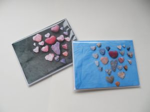 Heart Rock Greeting Cards